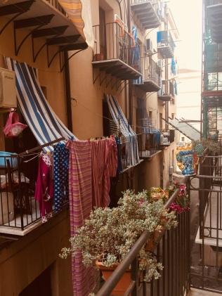 Balconies, Kalsa Disctrict, Palermo.